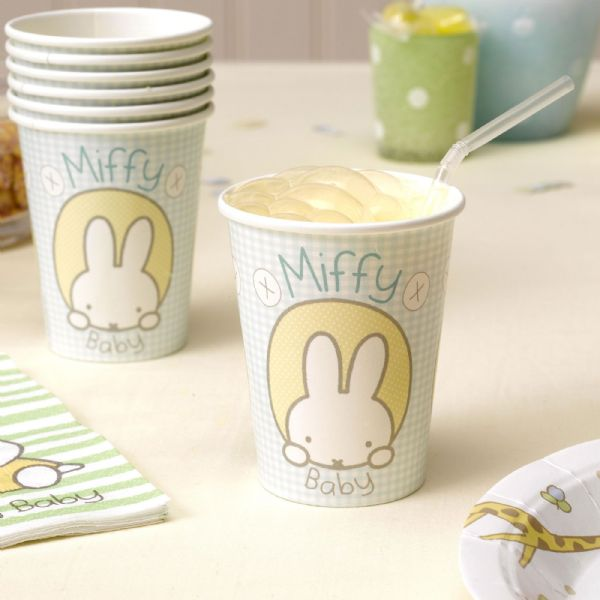Baby Miffy Paper Cups (8)